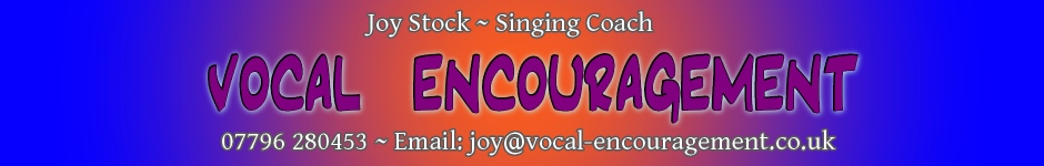 Vocal Encouragement